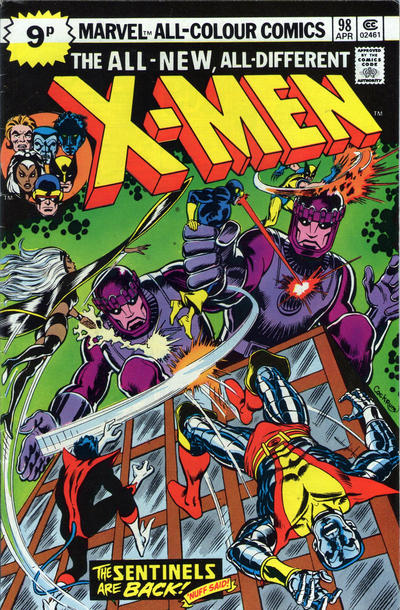 Cover for The X-Men (Marvel, 1963 series) #98 [25¢]