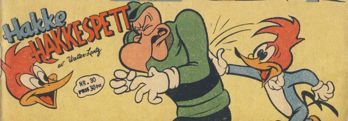 Cover for Hakke Hakkespett (Serieforlaget / Se-Bladene / Stabenfeldt, 1957 series) #30/1958
