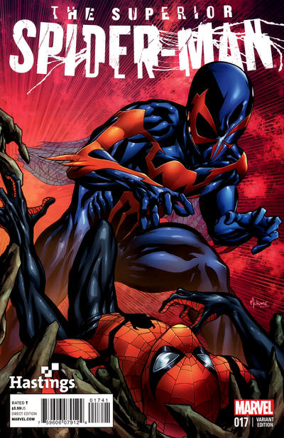 Cover for Superior Spider-Man (Marvel, 2013 series) #17