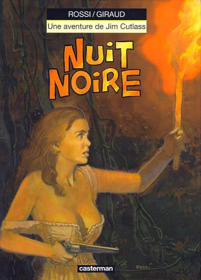 Cover for Jim Cutlass (Casterman, 1991 series) #7 - Nuit noire