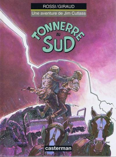 Cover for Jim Cutlass (Casterman, 1991 series) #4 - Tonnerre au Sud