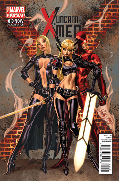 Cover for Uncanny X-Men (Marvel, 2013 series) #19