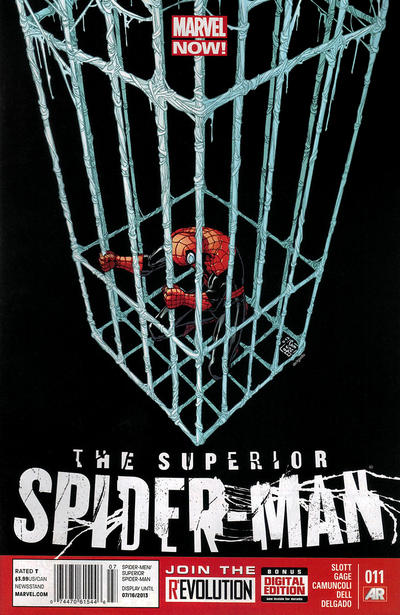 Cover for Superior Spider-Man (Marvel, 2013 series) #11