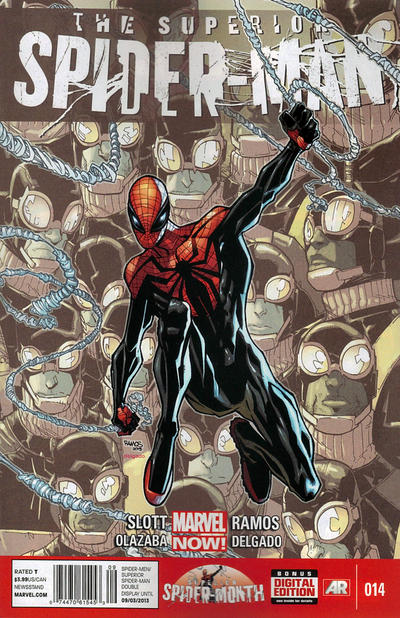 Cover for Superior Spider-Man (Marvel, 2013 series) #14