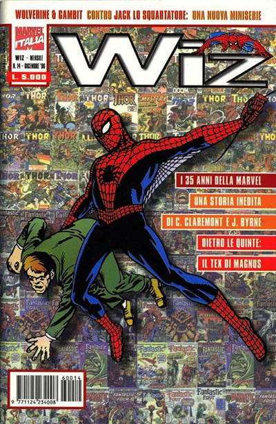 Cover for Wiz (Marvel Italia, 1995 series) #14