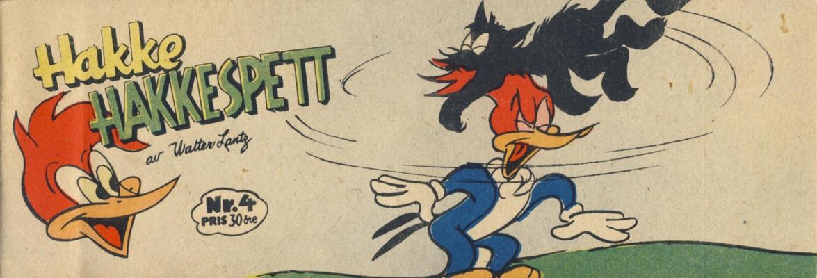 Cover for Hakke Hakkespett (Serieforlaget / Se-Bladene / Stabenfeldt, 1957 series) #4/1959