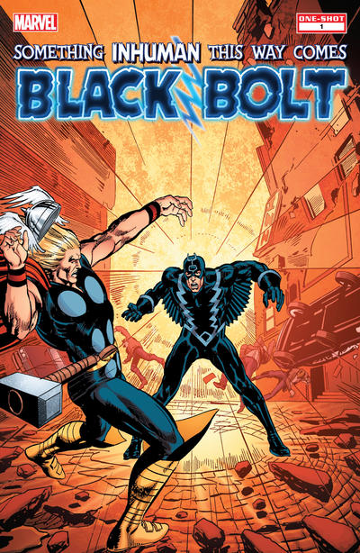 Cover for Black Bolt: Something Inhuman This Way Comes (Marvel, 2013 series) #1