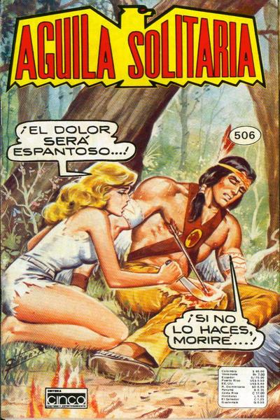 Cover for Aguila Solitaria (Editora Cinco, 1976 ? series) #506