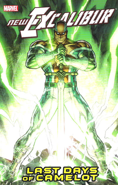 Cover for New Excalibur (Marvel, 2006 series) #2 - Last Days of Camelot