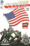 Cover Thumbnail for Justice League of America (2013 series) #1 [C2E2 Cover]