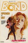Cover for James Bond (Semic, 1979 series) #2/1986