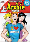 Cover for Archie Digest, Free Comic Book Day Edition (Archie, 2014 series) #1