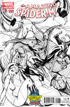Cover Thumbnail for The Amazing Spider-Man (2014 series) #1.1 [J. Scott Campbell Midtown Comics Sketch Variant]