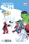 Cover Thumbnail for Original Sin (2014 series) #1 [Skottie Young Marvel Babies Variant]