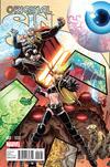 Cover Thumbnail for Original Sin (2014 series) #1 [Arthur Adams Interlocking Battle Variant]
