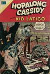Cover for Hopalong Cassidy (Editorial Novaro, 1952 series) #182