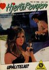 Cover for Hjerterevyen (Serieforlaget / Se-Bladene / Stabenfeldt, 1960 series) #42/1988