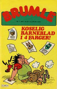 Cover Thumbnail for Brumle (Semic, 1977 series) #7/1977