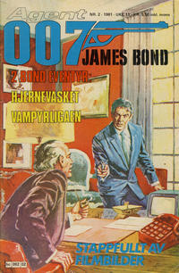 Cover for James Bond (Semic, 1979 series) #2/1981