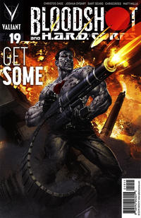 Cover Thumbnail for Bloodshot and H.A.R.D.Corps (Valiant Entertainment, 2013 series) #19 [Cover A - Clayton Crain]
