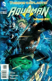 Cover Thumbnail for Aquaman (DC, 2011 series) #15 [Jim Lee Variant]