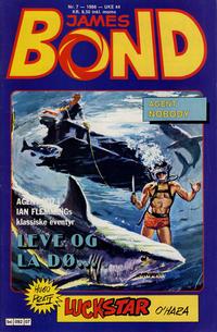 Cover Thumbnail for James Bond (Semic, 1979 series) #7/1986