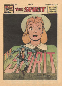 Cover Thumbnail for The Spirit (Register and Tribune Syndicate, 1940 series) #4/11/1948