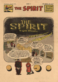 Cover Thumbnail for The Spirit (Register and Tribune Syndicate, 1940 series) #6/13/1948
