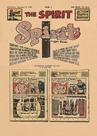 Cover Thumbnail for The Spirit (Register and Tribune Syndicate, 1940 series) #12/12/1948