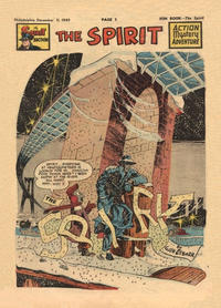 Cover Thumbnail for The Spirit (Register and Tribune Syndicate, 1940 series) #12/11/1949