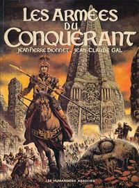 Cover Thumbnail for Les armées du conquérant (Les Humanoïdes Associés, 1977 series)