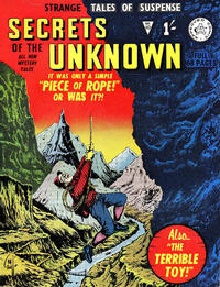Cover Thumbnail for Secrets of the Unknown (Alan Class, 1962 series) #10
