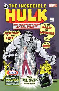 Cover Thumbnail for Hulk Vol. 1, No. 1 (Wal-Mart Edition) (Marvel, 2003 series) #1
