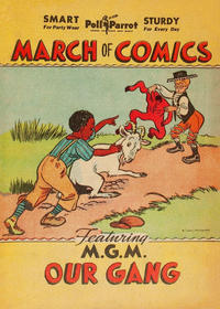 Cover Thumbnail for Boys' and Girls' March of Comics (Western, 1946 series) #[3] [Poll Parrot variant]