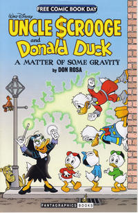 """Cover Thumbnail for Walt Disney Uncle Scrooge and Donald Duck: """"A Matter of Some Gravity"""" (Free Comic Book Day 2014) (Fantagraphics, 2014 series)  [Vertical Cover]"""