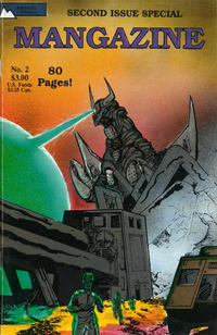 Cover Thumbnail for Mangazine (Antarctic Press, 1989 series) #2
