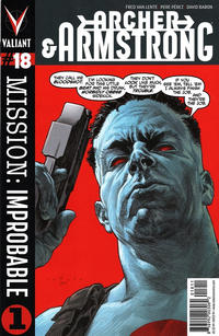 Cover Thumbnail for Archer and Armstrong (Valiant Entertainment, 2012 series) #18 [Cover A - Lewis LaRosa]