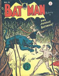 Cover Thumbnail for Batman (K. G. Murray, 1950 series) #33