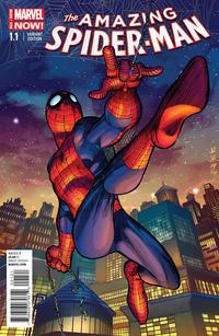 Cover Thumbnail for The Amazing Spider-Man (Marvel, 2014 series) #1.1 [John Romita Jr. Variant]