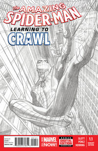 Cover Thumbnail for The Amazing Spider-Man (Marvel, 2014 series) #1.1 [Alex Ross Sketch Variant]