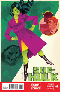Cover Thumbnail for She-Hulk (Marvel, 2014 series) #4