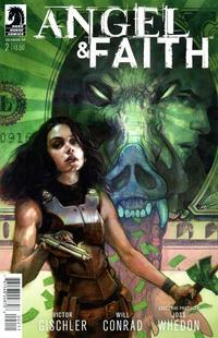 Cover Thumbnail for Angel & Faith Season 10 (Dark Horse, 2014 series) #2 [Scott Fischer Cover]