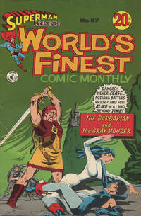 Cover Thumbnail for Superman Presents World's Finest Comic Monthly (K. G. Murray, 1965 series) #97