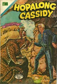 Cover Thumbnail for Hopalong Cassidy (Editorial Novaro, 1952 series) #206