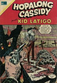 Cover Thumbnail for Hopalong Cassidy (Editorial Novaro, 1952 series) #182
