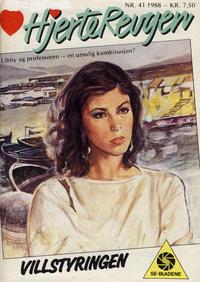 Cover Thumbnail for Hjerterevyen (Serieforlaget / Se-Bladene / Stabenfeldt, 1960 series) #41/1988