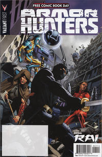 Cover Thumbnail for Valiant FCBD 2014 Armor Hunters Special (Valiant Entertainment, 2014 series)
