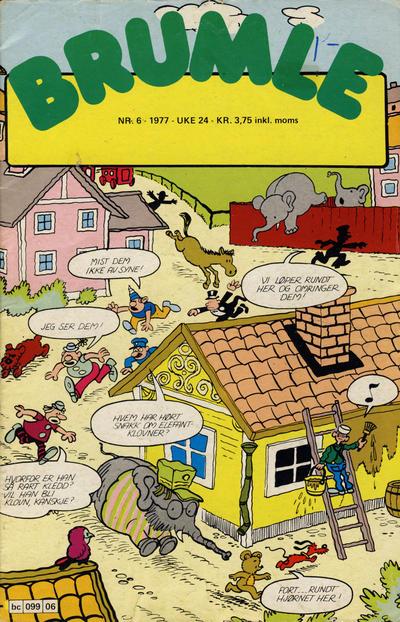 Cover for Brumle (Semic, 1977 series) #6/1977