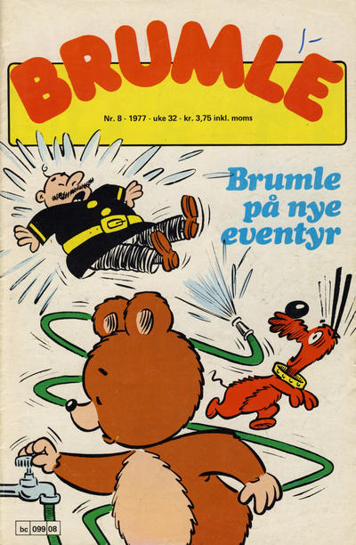 Cover for Brumle (Semic, 1977 series) #8/1977
