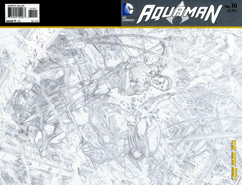 Cover for Aquaman (DC, 2011 series) #10